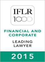 Leading lawyer in the IFLR1000 (2015) - 153-209