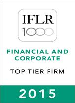 IFLR1000 (2015) Top Tier Firm Rosette - 153-209